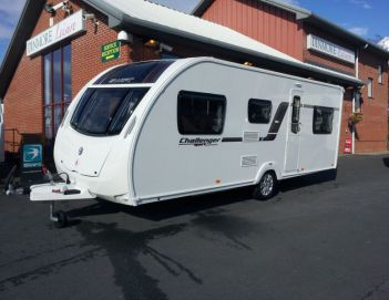SOLD Swift Challenger Sport 586 SR (2013)