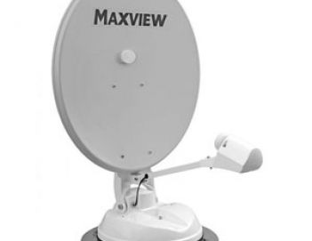 Maxview 85cm Manual 'Crank Up' Satellite Syst
