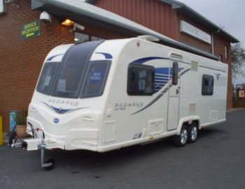 SOLD Bailey Pegasus GT65 Bologna (2013)