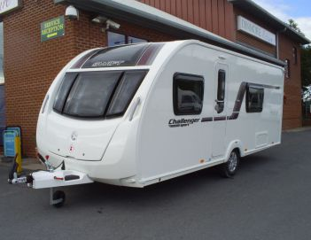 SOLD Swift Challenger Sport 554 (2014)