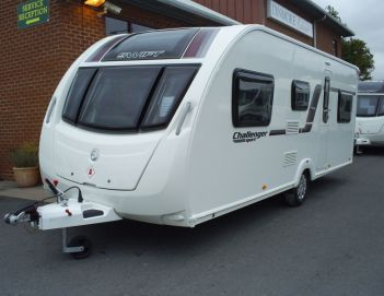 SOLD Swift Challenger Sport 586 SR (2014)