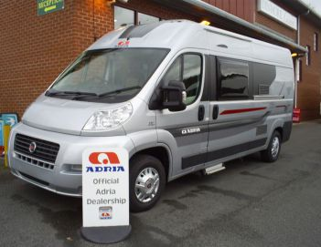 SOLD Adria Twin 600 SP (2014)