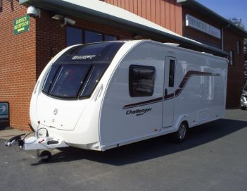 SOLD Swift Challenger Sport 584 SR (2015)