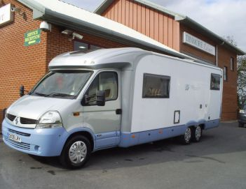 SOLD Burstner Delphin T821 (2009)