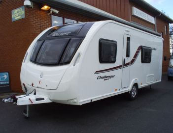 SOLD Swift Challenger Sport 554 (2015)