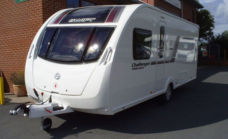 Sold Swift Challenger Sport 584 2014