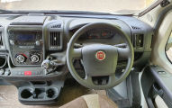 Swift Escape 644 dash