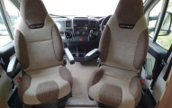 Swift Escape 644  captains seats
