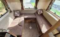 Swift Escape 644  rear lounge