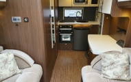Elddis Aspire 215 lounge