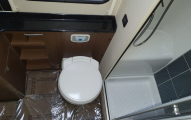 Elddis Aspire 215 washroom